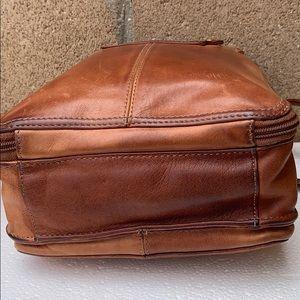 Fossil Bags - Vintage Fossil Organizer crossbody bag tan